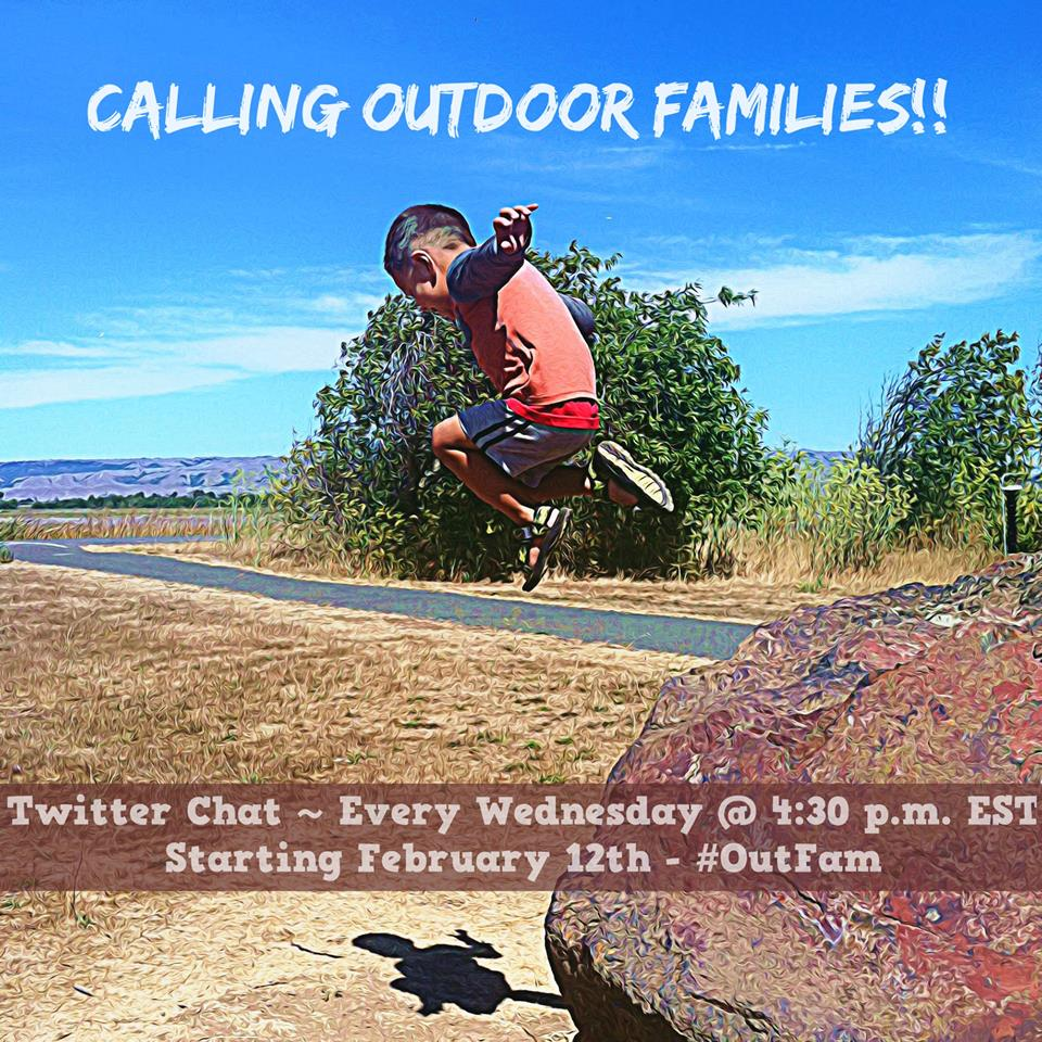 Come join the #OutFam chat on Twitter!