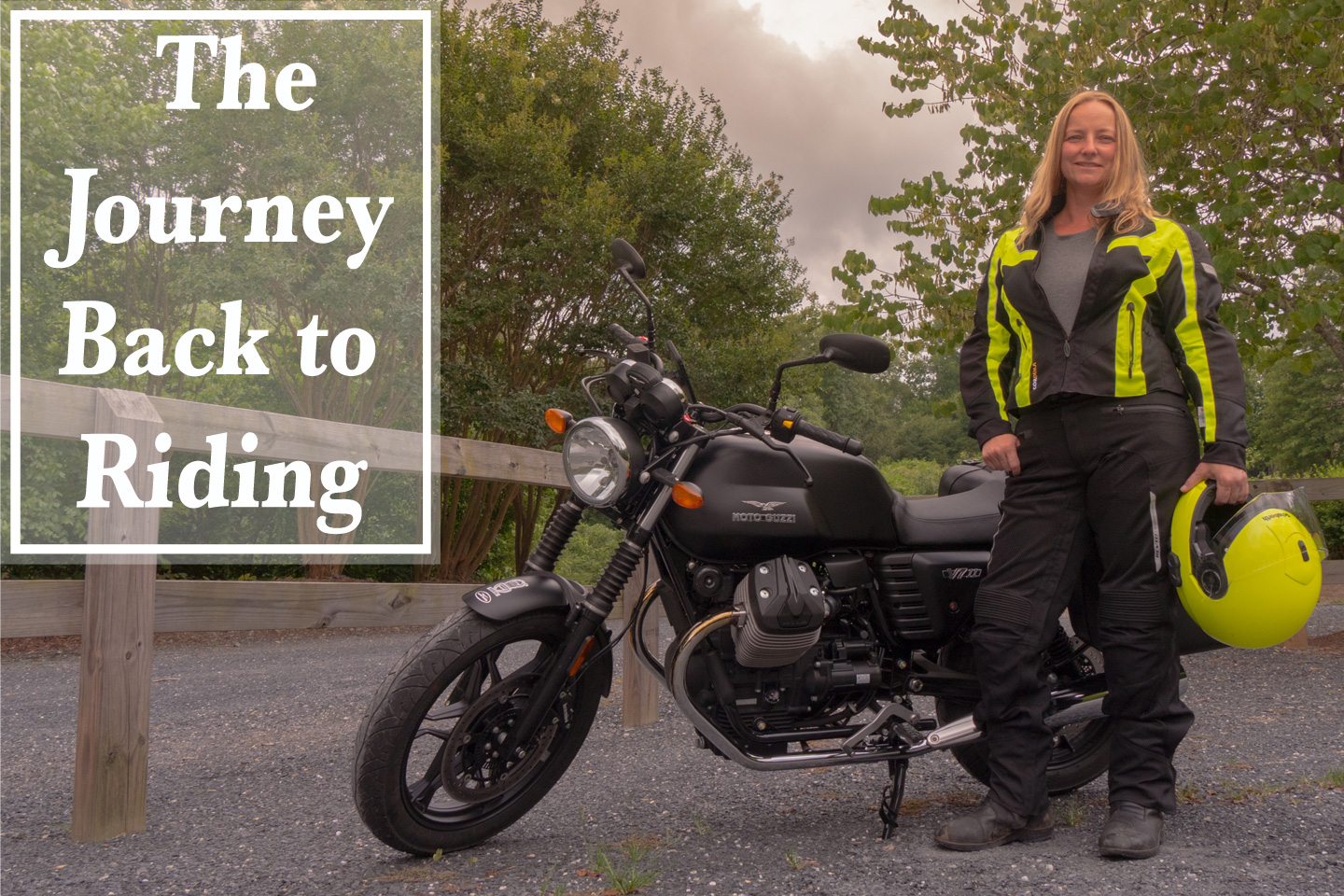 The Journey Back to Riding - Val in Real Life