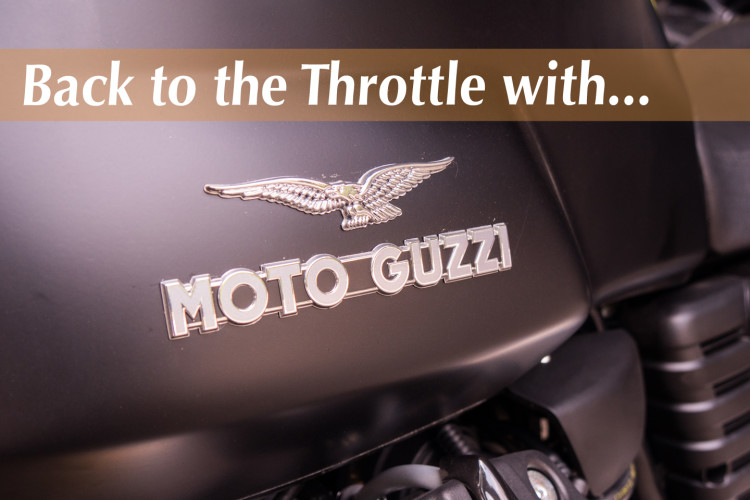 Back to the Throttle With Moto Guzzi - Val in Real Life