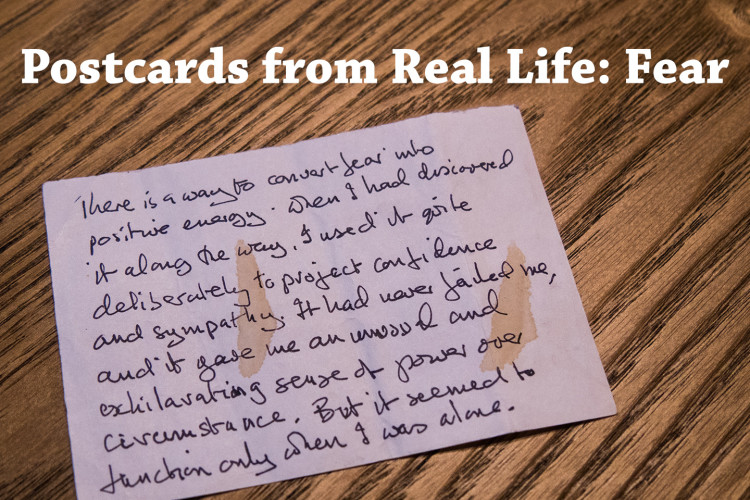 Ted Simon's fear quote - Val in Real Life
