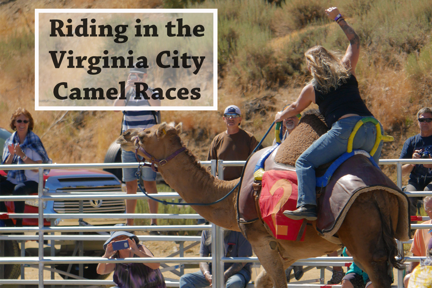 virginia city camel race - val in real life