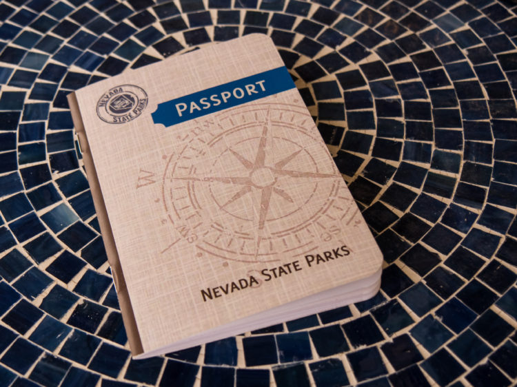 nevada state parks passport - val in real life