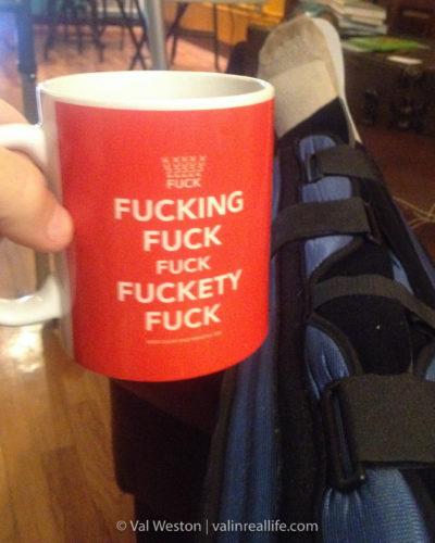 fuck mug - val in real life