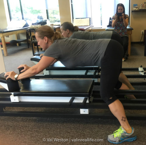 physical therapy - val in real life