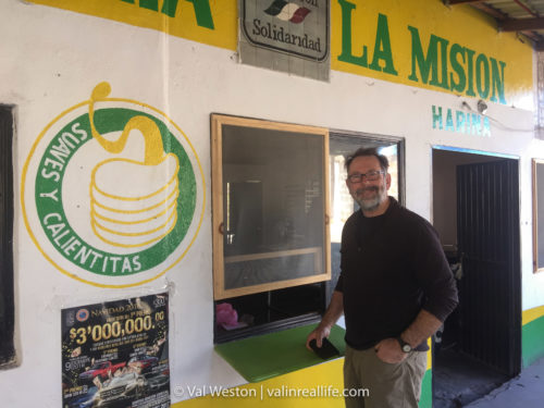 tortilla shop san ignacio baja - val in real life