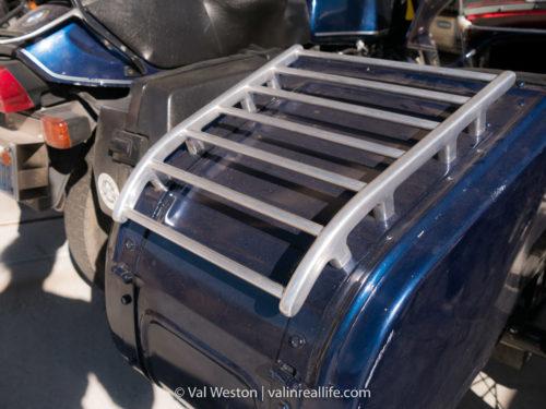 ural sidecar luggage rack - val in real life
