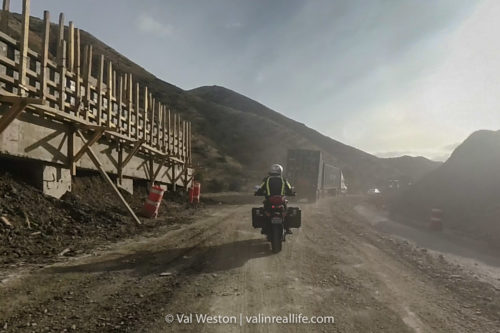 baja construction zone - val in real life