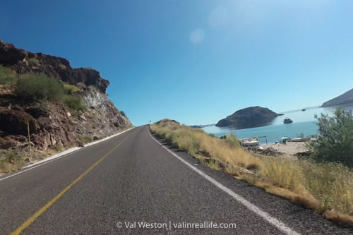 baja coast sea of cortez - val in real life