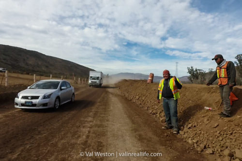 baja construction workers - val in real life