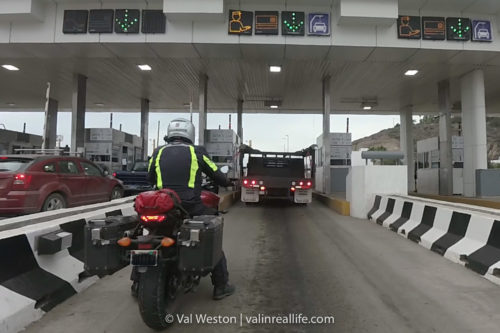 baja toll booth - val in real life