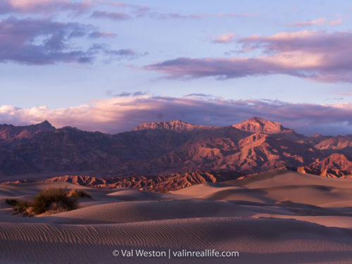 mesquite sand dunes - val in real life