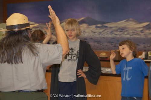 junior ranger program - val in real life